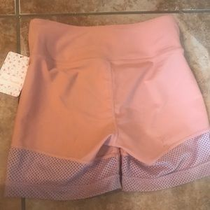 Free People Shorts - Free People Movement Hot Trot Under Shorts Mesh